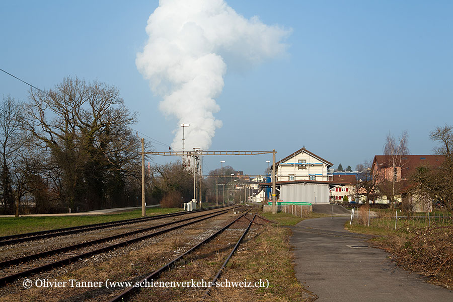 """Bahnhof """"Leibstadt"""""""