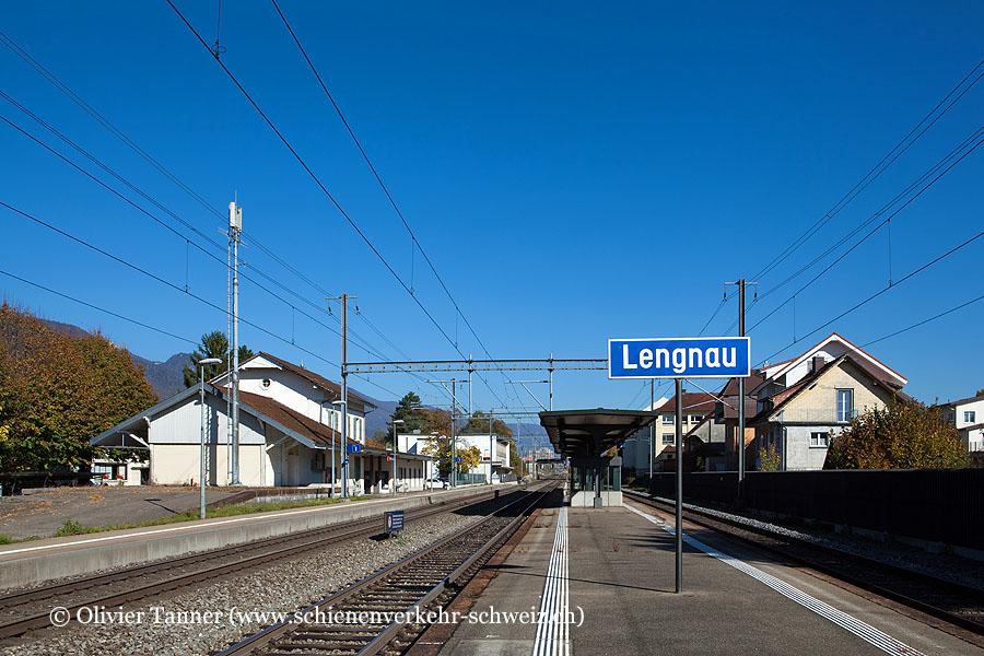 "Bahnhof ""Lengnau"""