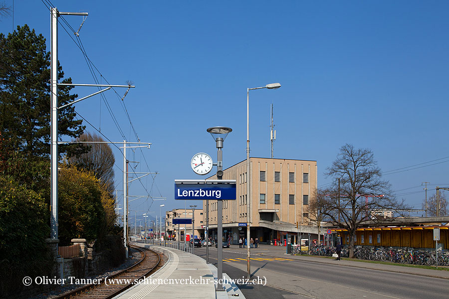 """Bahnhof """"Lenzburg Seetal"""""""