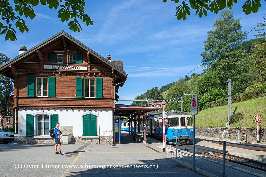 "Bahnhof ""Les Avants"""