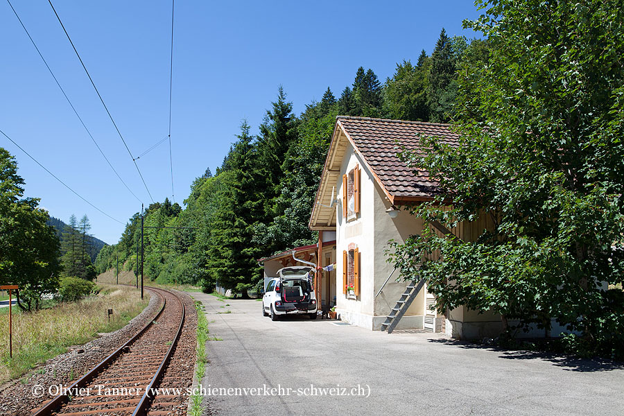 """Bahnhof """"Les Bayards"""""""