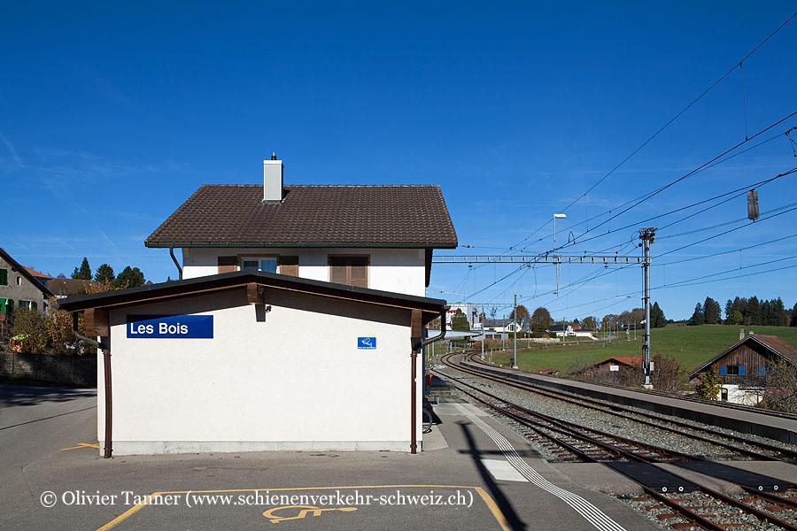 """Bahnhof """"Les Bois"""""""