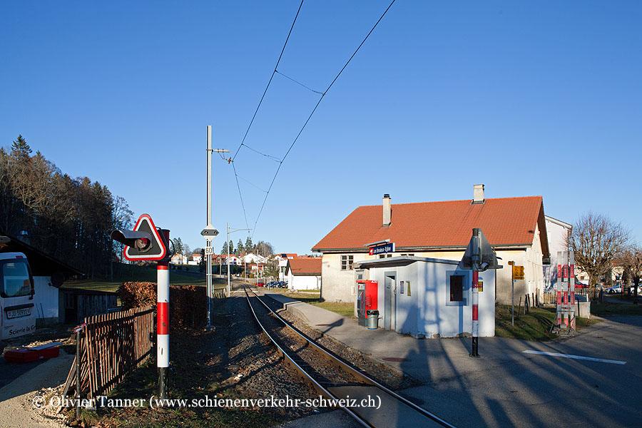 """Bahnhof """"Les Breuleux-Eglise"""""""