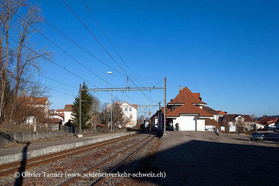 """Bahnhof """"Les Breuleux"""""""