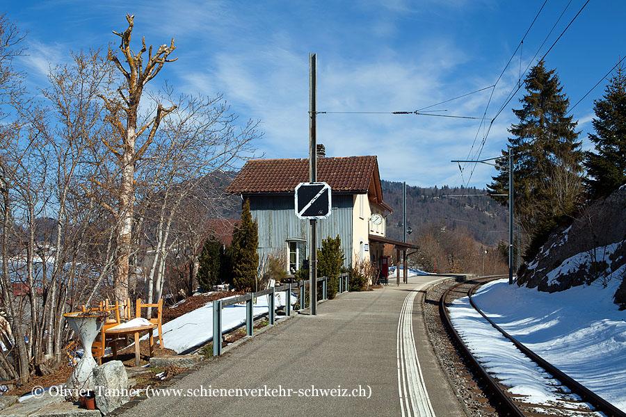 """Bahnhof """"Les Charbonnières"""""""