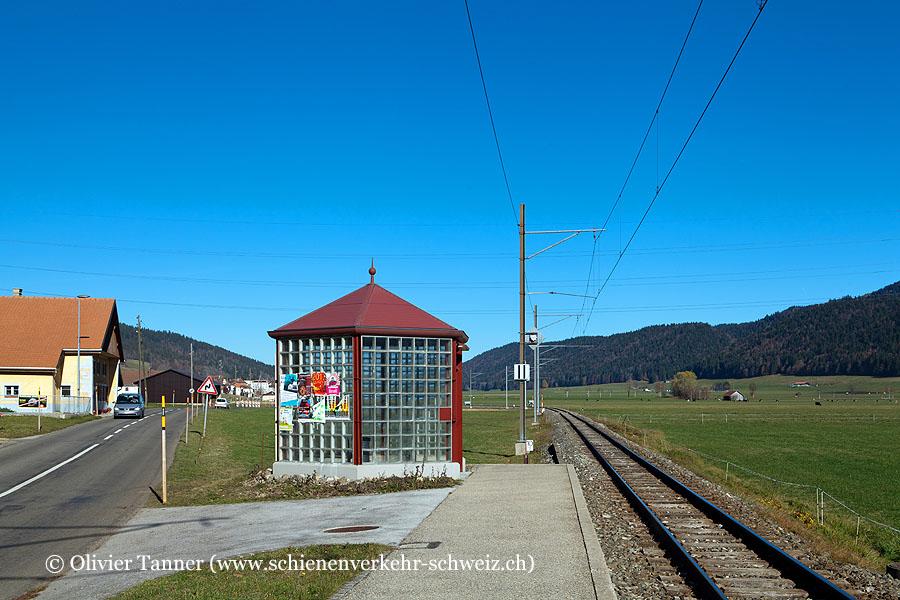 """Bahnhof """"Les Coeudres-Est"""""""