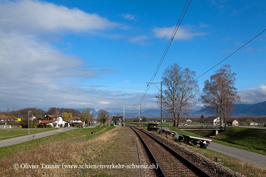 """Bahnhof """"Les Evouettes"""""""