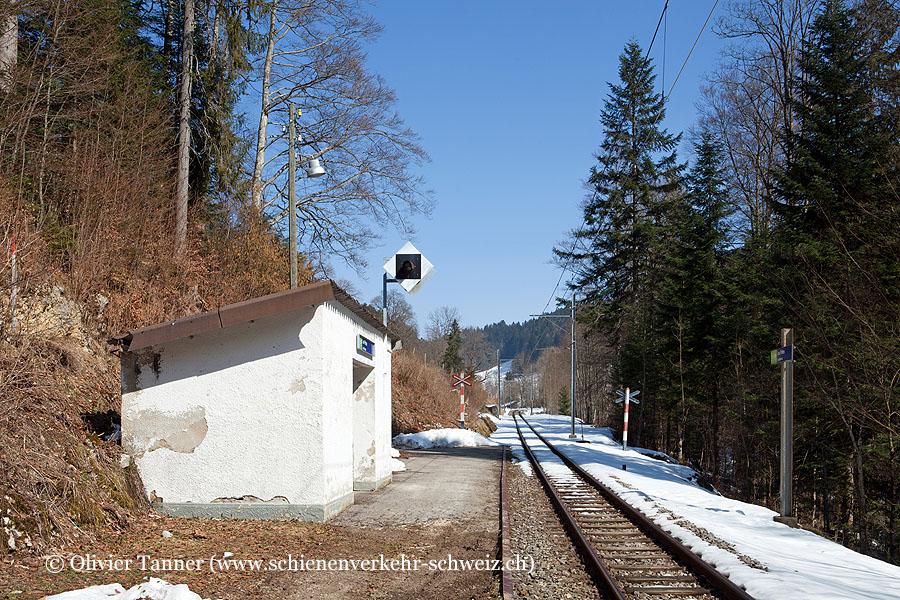 """Bahnhof """"Les Frêtes"""""""
