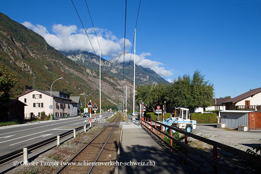 """Bahnhof """"Les Fumeaux"""""""