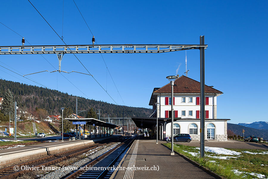 "Bahnhof ""Les Hauts-Geneveys"""