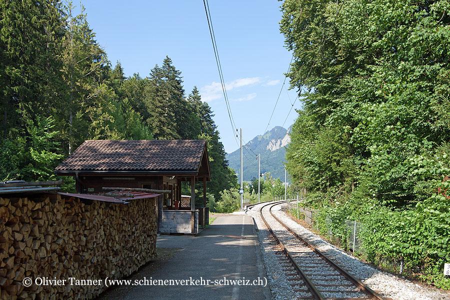 """Bahnhof """"Les Marches"""""""