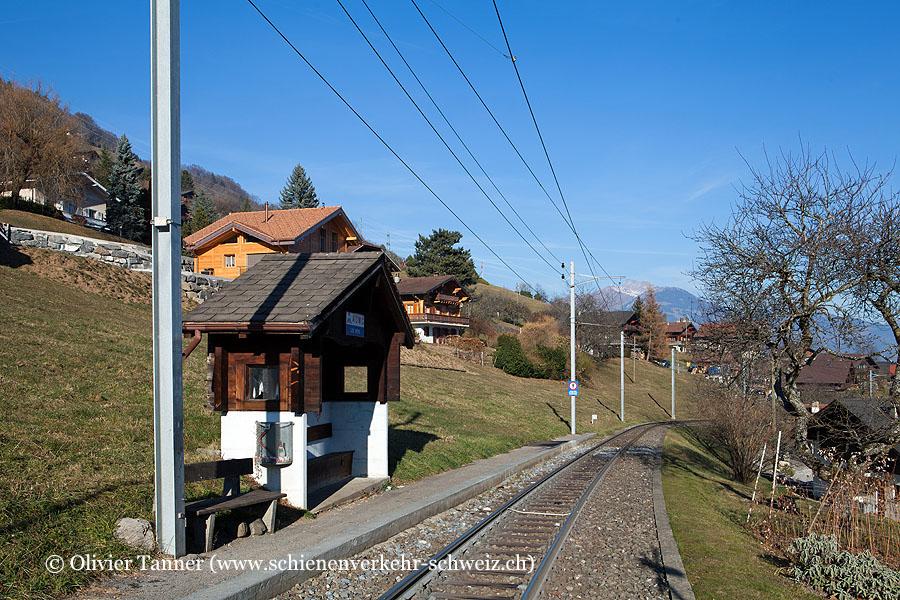 """Bahnhof """"Les Neys"""""""