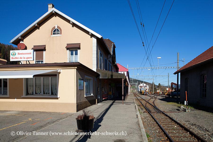 """Bahnhof """"Les Ponts-de-Martel"""""""