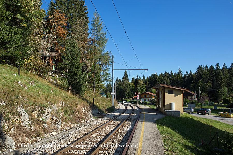 "Bahnhof ""Les Pralies"""