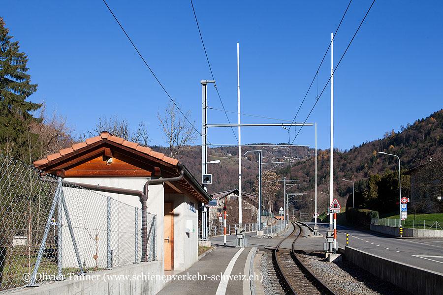 """Bahnhof """"Les Salines"""""""