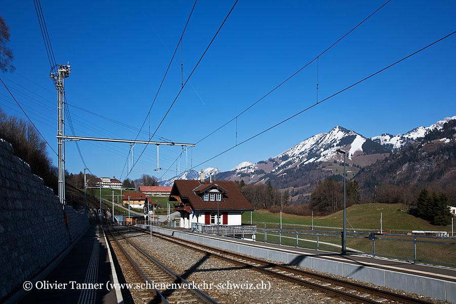 """Bahnhof """"Les Sciernes"""""""