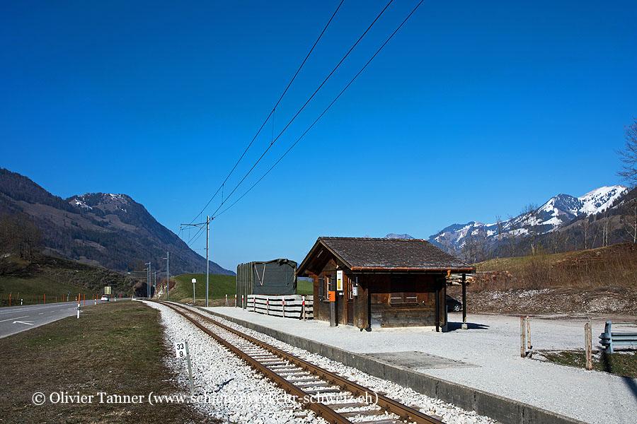 """Bahnhof """"Lessoc"""""""