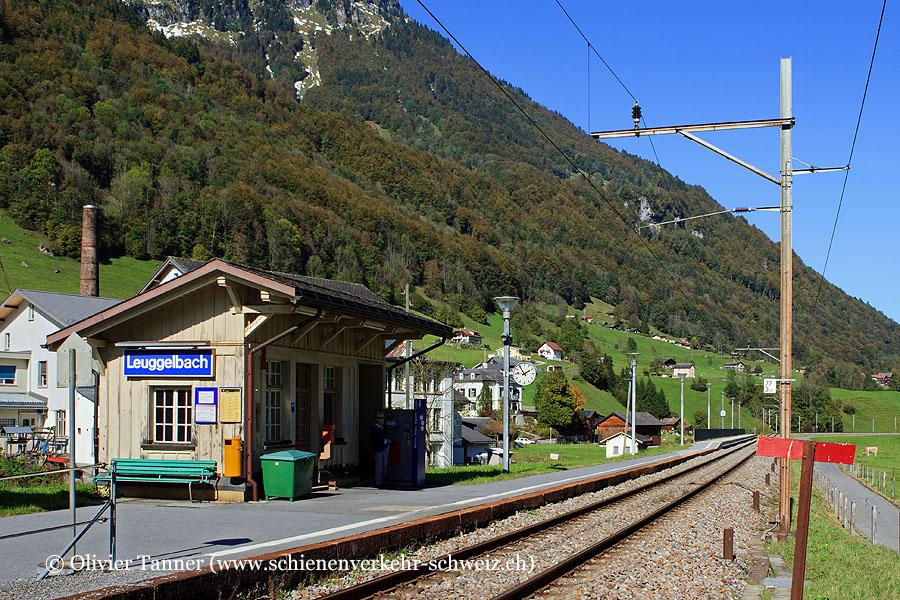 """Bahnhof """"Leuggelbach"""""""