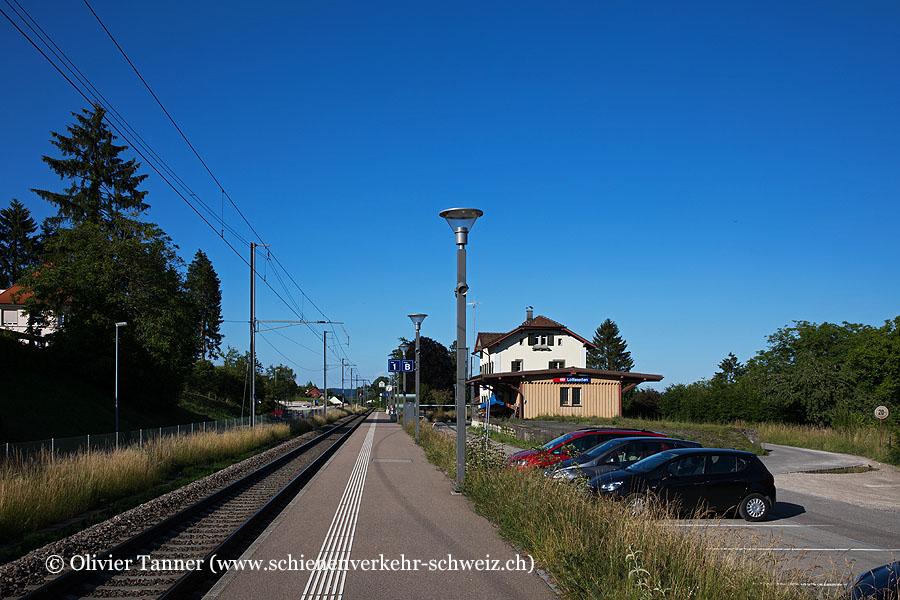 """Bahnhof """"Lottstetten"""""""