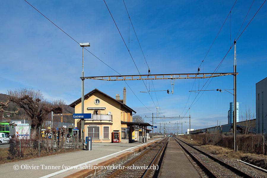 """Bahnhof """"Lucens"""""""
