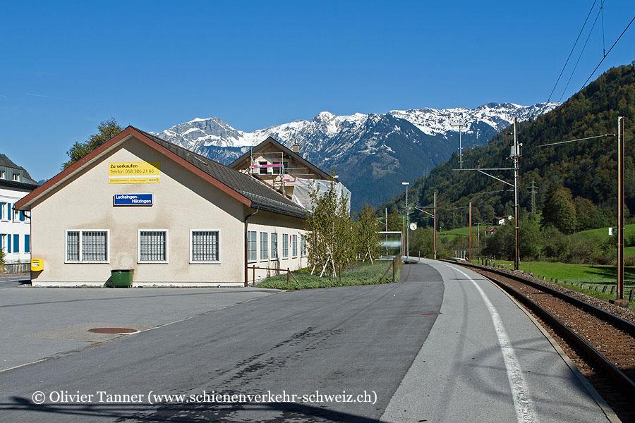 """Bahnhof """"Luchsingen-Hätzingen"""""""
