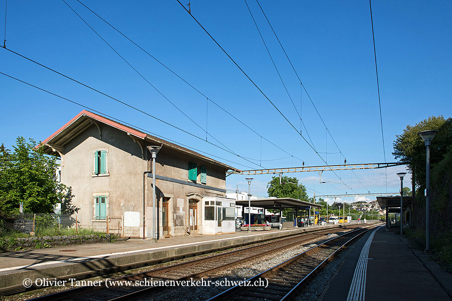 "Bahnhof ""Lutry"""