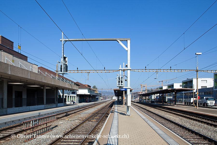 "Bahnhof ""Lyss"""