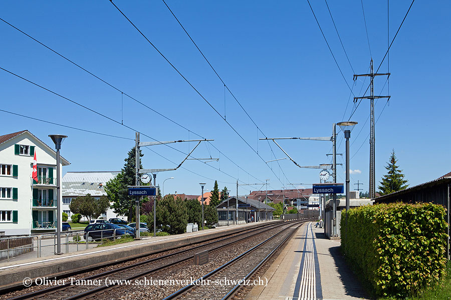 "Bahnhof ""Lyssach"""