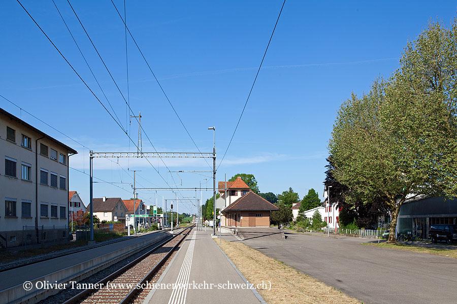 """Bahnhof """"Märwil"""""""
