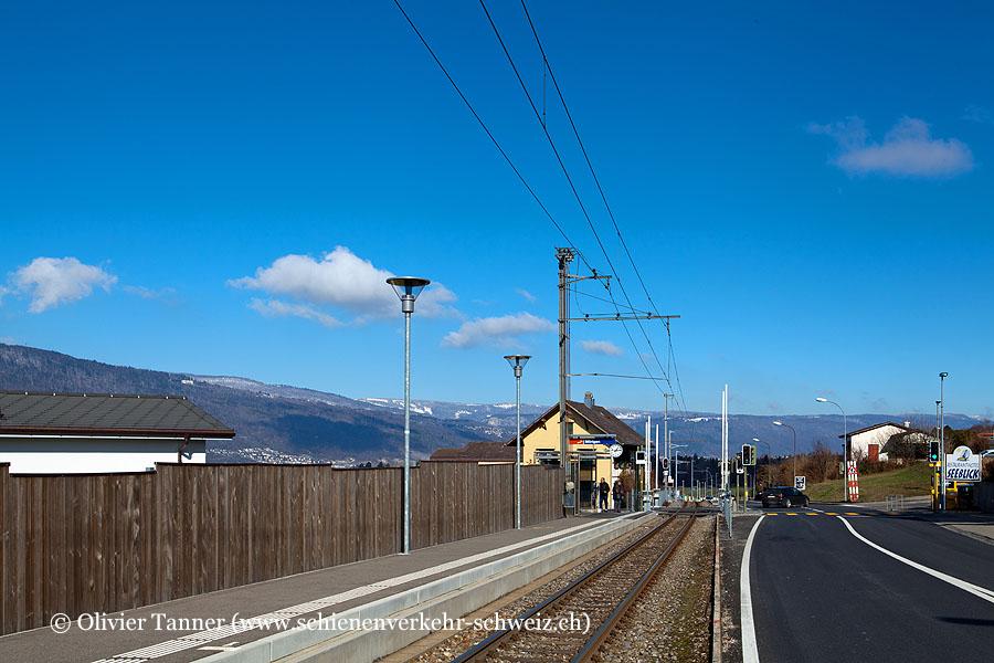 """Bahnhof """"Mörigen"""""""