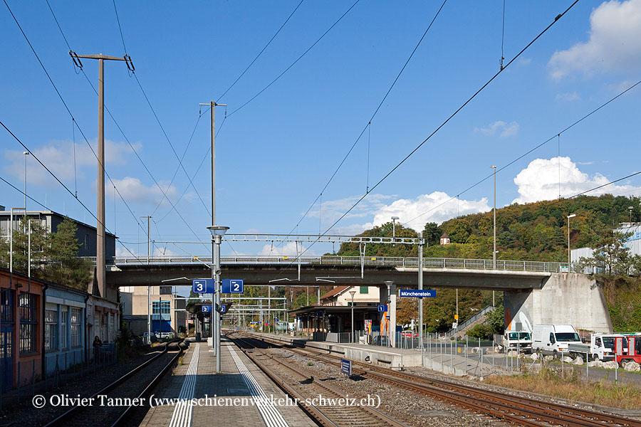 """Bahnhof """"Münchenstein"""""""
