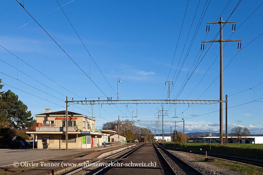 """Bahnhof """"Müntschemier"""""""