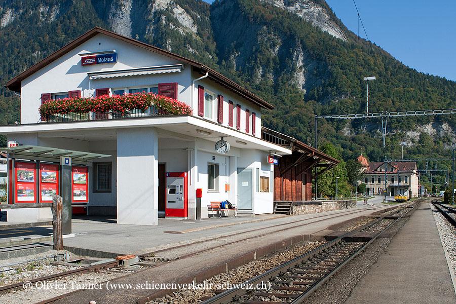 "Bahnhof ""Malans"""