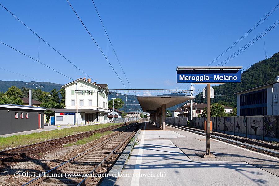 """Bahnhof """"Maroggia-Melano"""""""