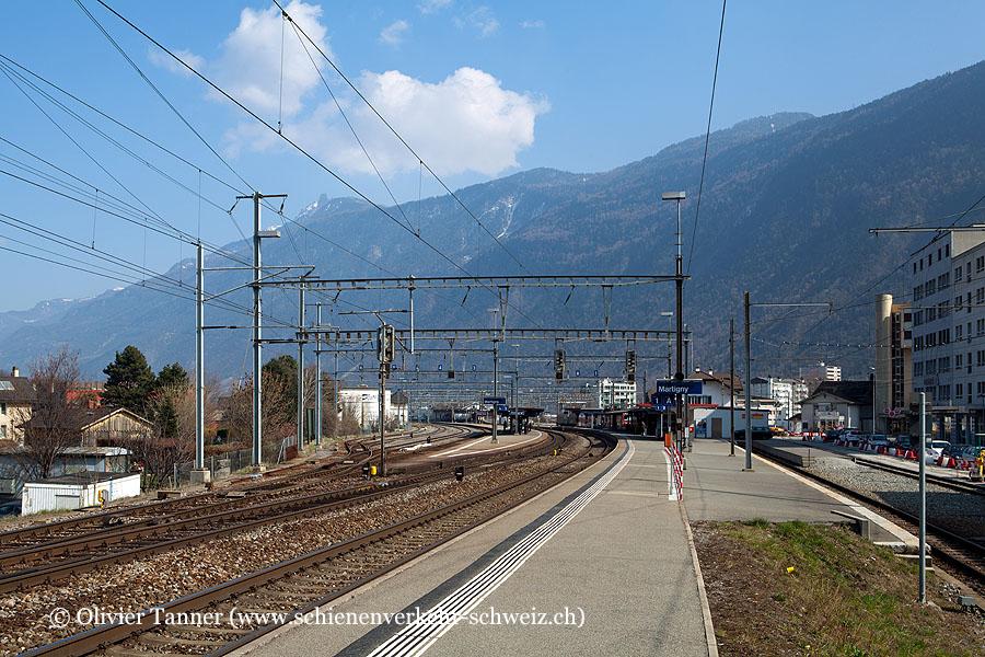 """Bahnhof """"Martigny"""""""