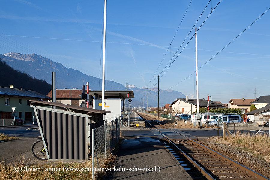 """Bahnhof """"Massongex"""""""
