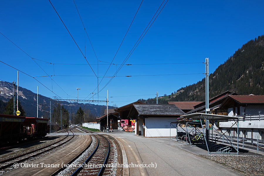 """Bahnhof """"Matten"""""""