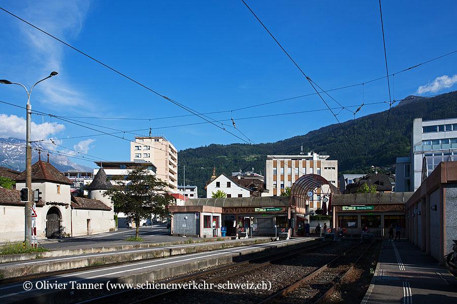 """Bahnhof """"Monthey-Ville"""""""