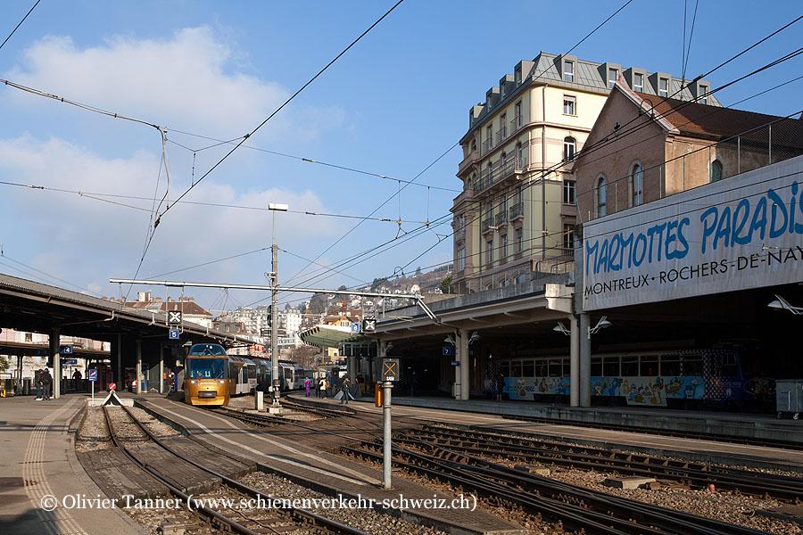 """Bahnhof """"Montreux MOB"""""""