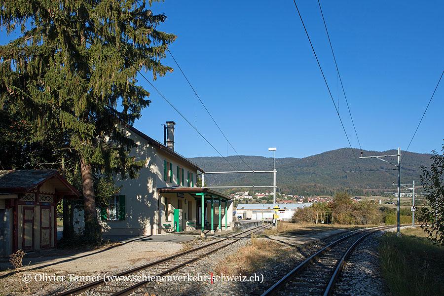 """Bahnhof """"Montricher"""""""