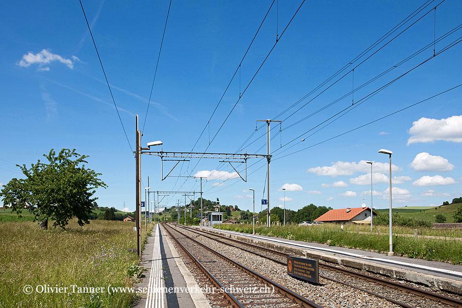 """Bahnhof """"Moreillon"""""""