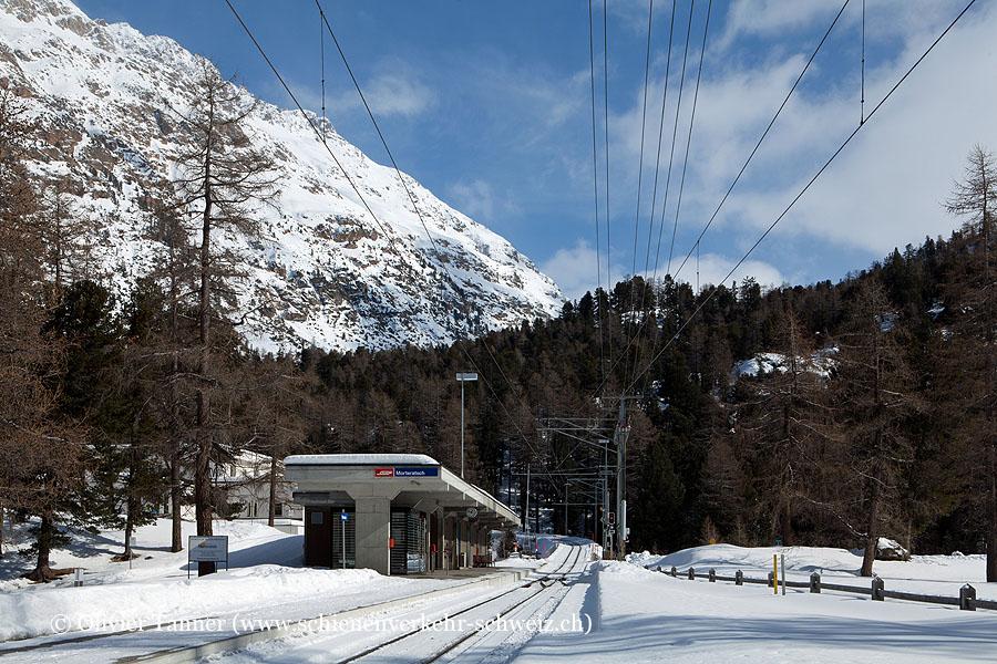 "Bahnhof ""Morteratsch"""