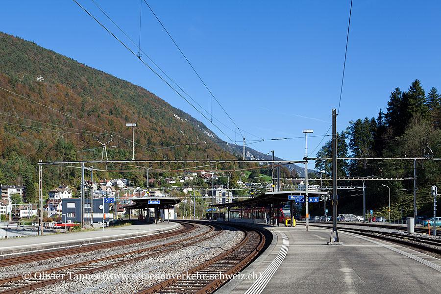 """Bahnhof """"Moutier"""""""