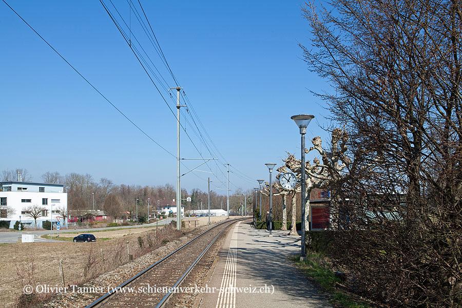 """Bahnhof """"Muntelier-Löwenberg"""""""