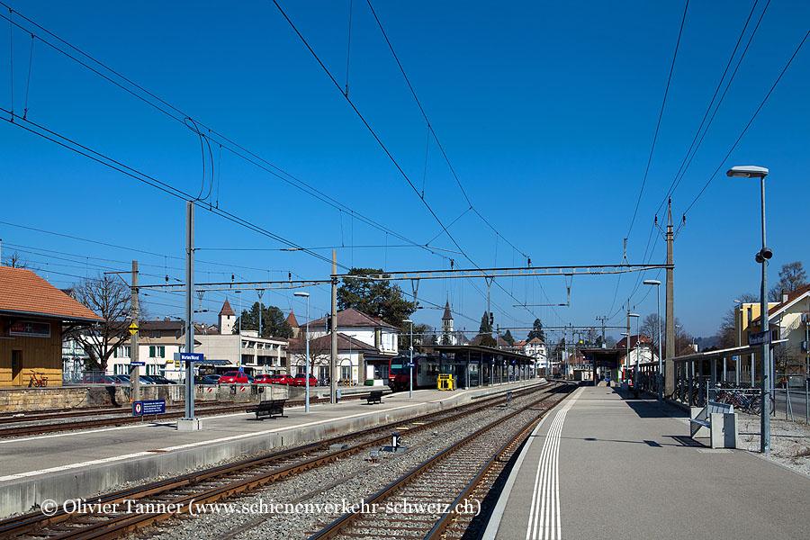 "Bahnhof ""Murten"""