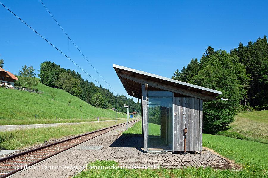 """Bahnhof """"Mussachen"""""""