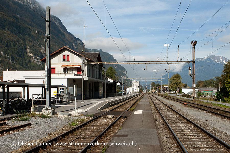 """Bahnhof """"Netstal"""""""