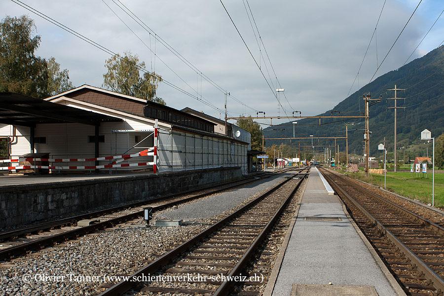 """Bahnhof """"Nieder- und Oberurnen"""""""