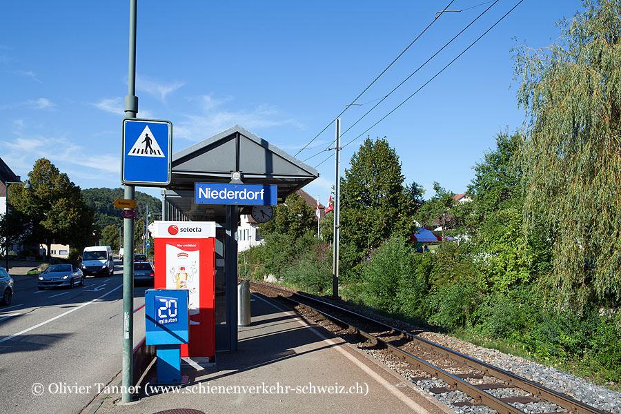 """Bahnhof """"Niederdorf"""""""