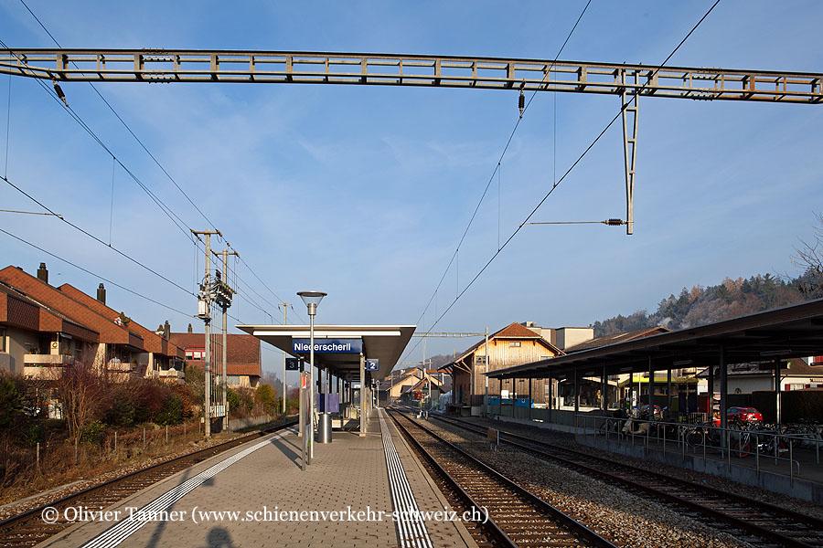 """Bahnhof """"Niederscherli"""""""